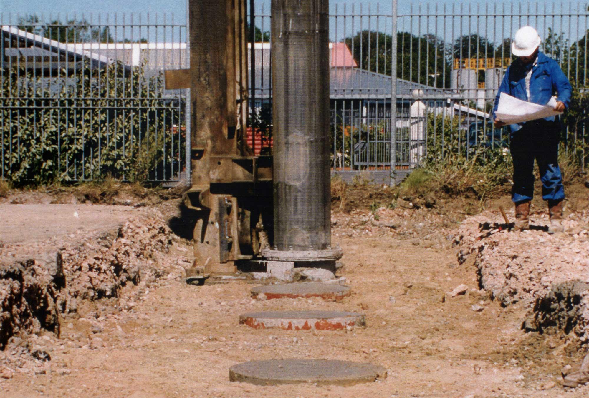 Vibrated Concrete Columns