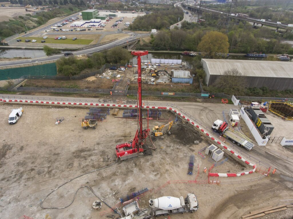 EcoPark South Project Piling Works